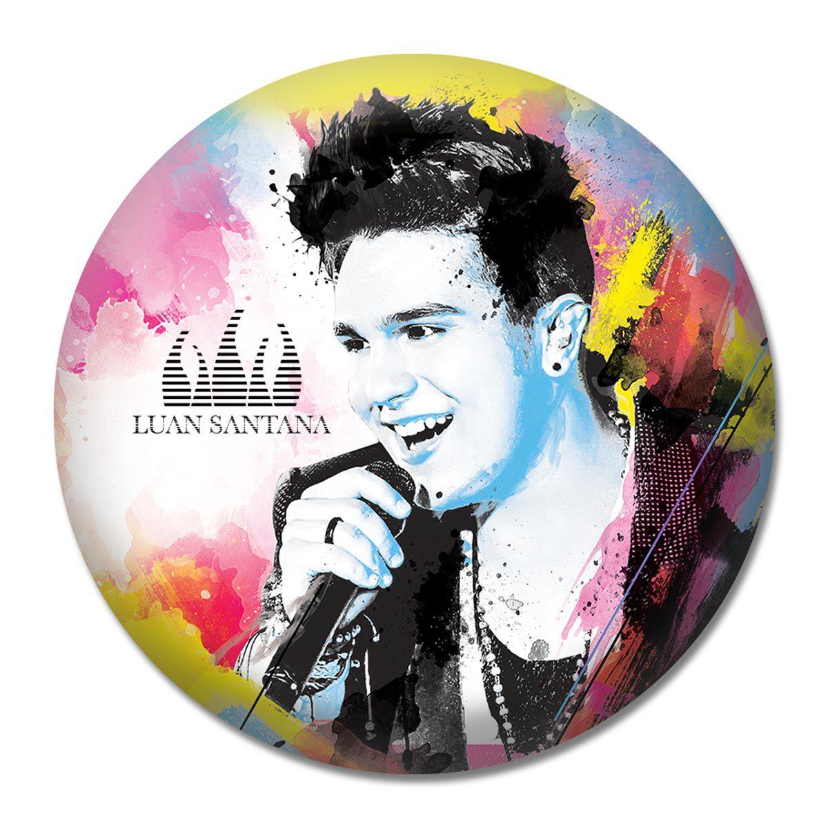 Button Luan Santana - Foto Colors