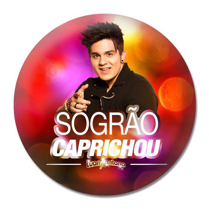 Button Luan Santana - Sogrão Caprichou