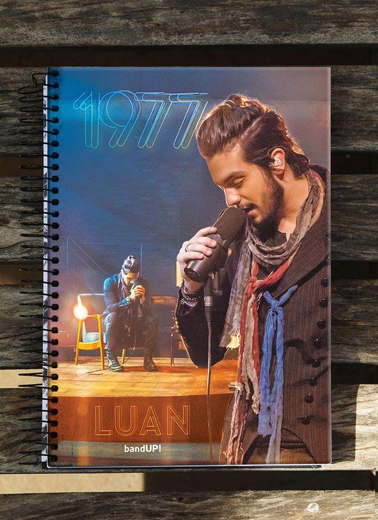 Caderno Luan Santana 1977 10 Matérias
