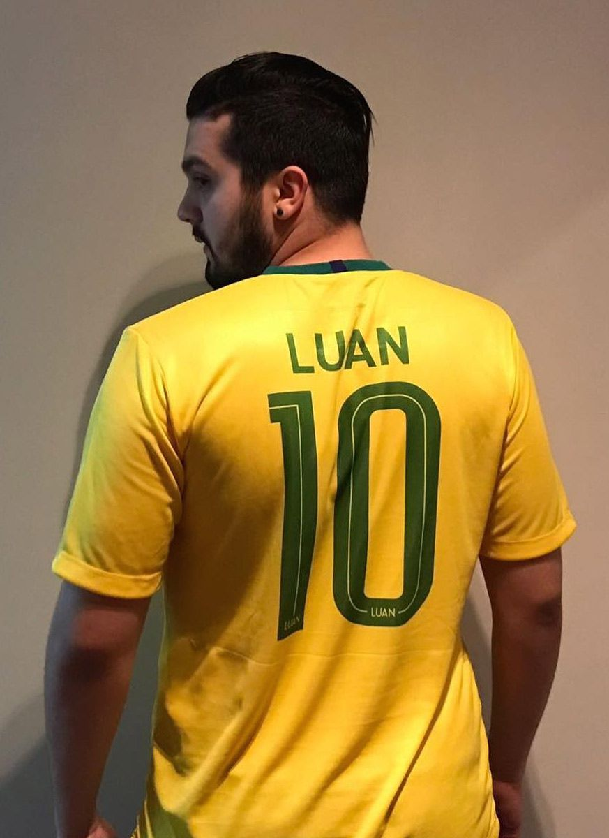 Camisa Copa Luan Santana X
