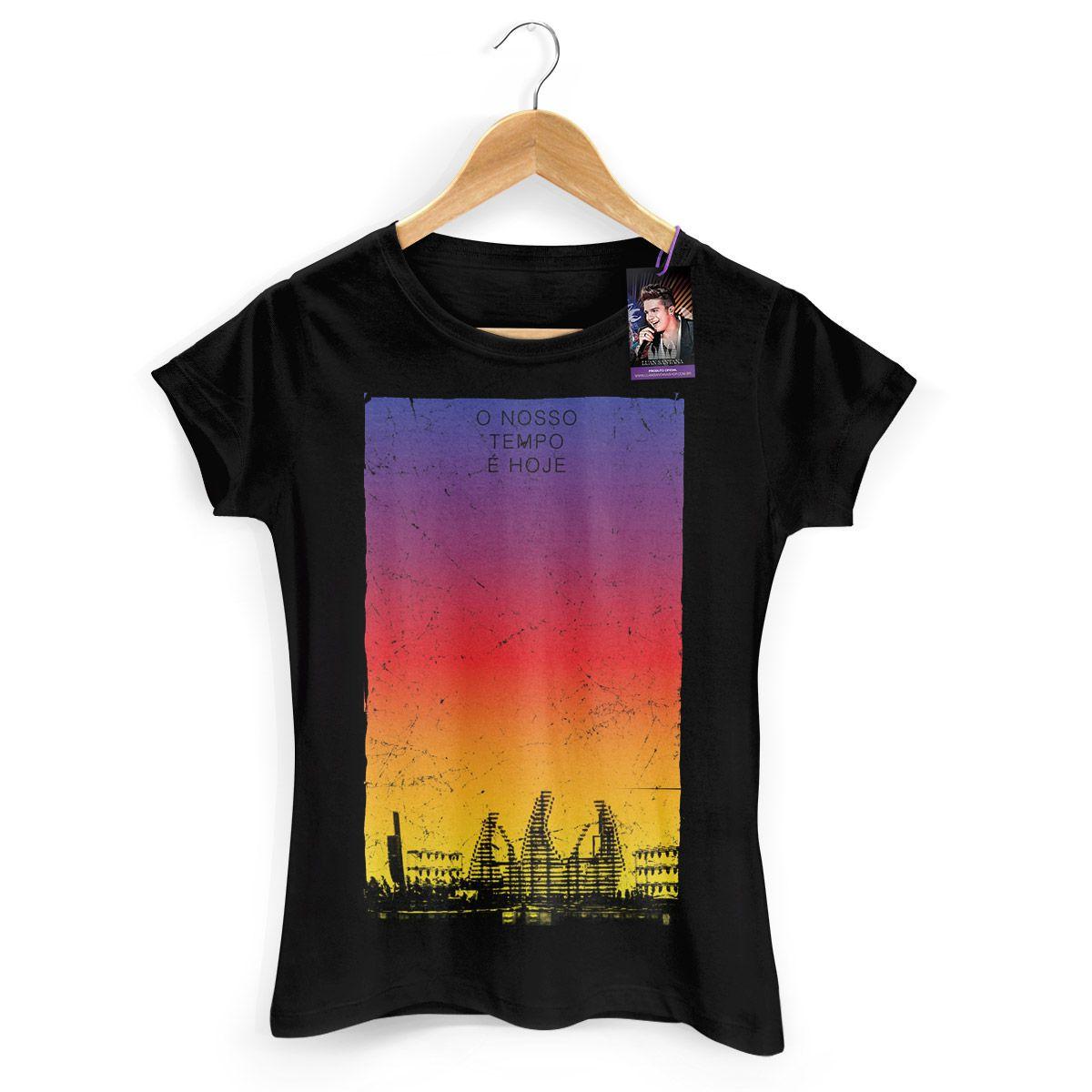 Camiseta Feminina Luan Santana - Concept Colors