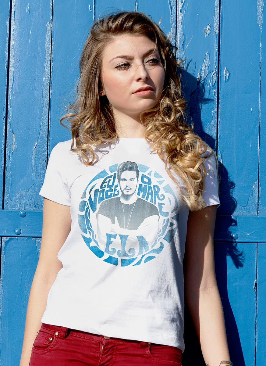 Camiseta Feminina Luan Santana #EVME Foto