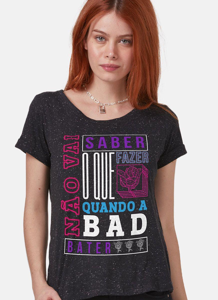 Camiseta Feminina Luan Santana Não Vai Saber o que Fazer