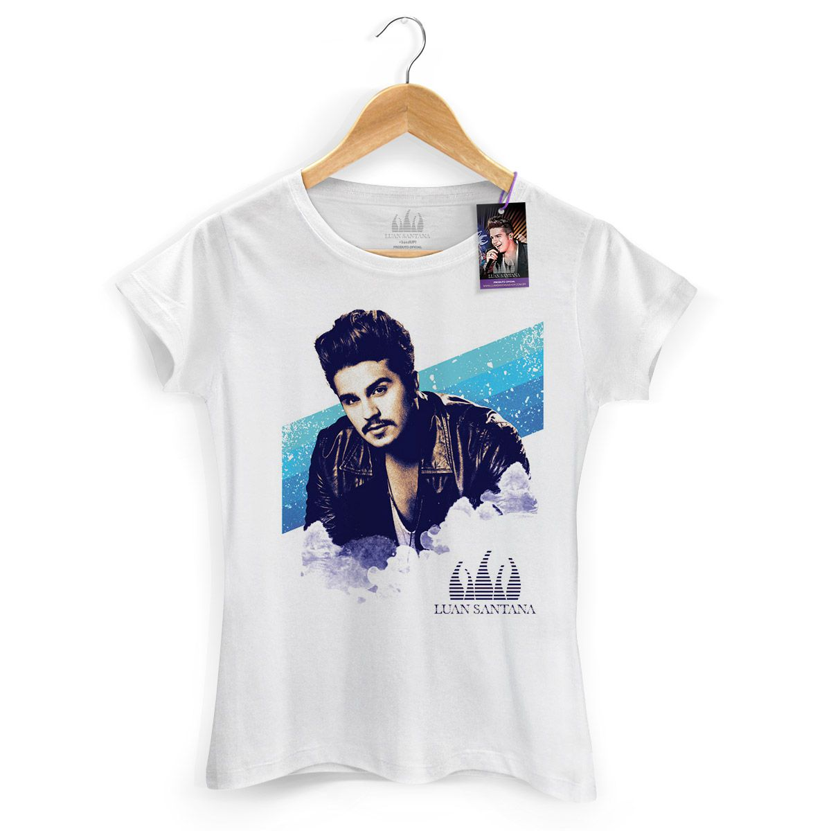 Camiseta Feminina Luan Santana Sky