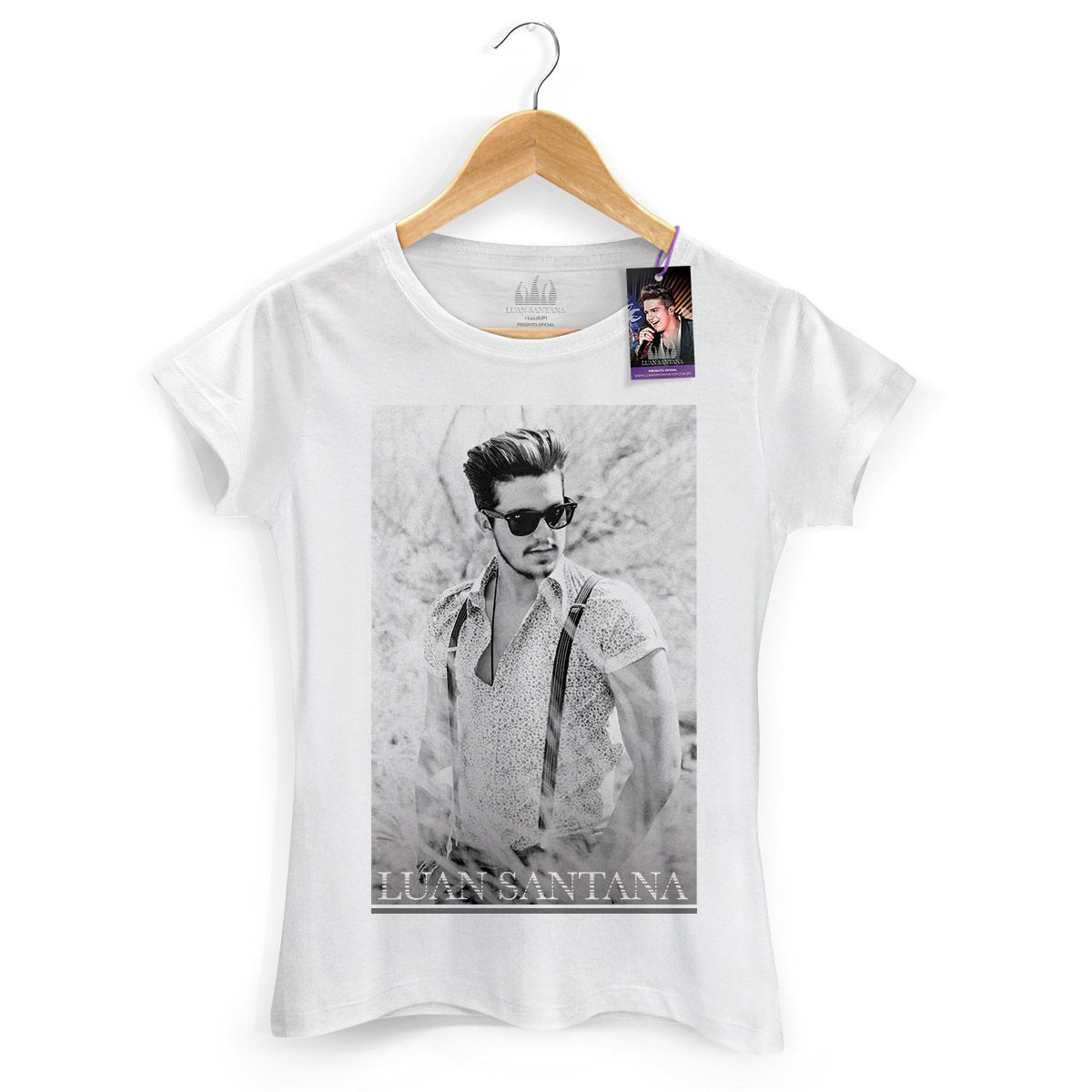 Camiseta Feminina Luan Santana Summer