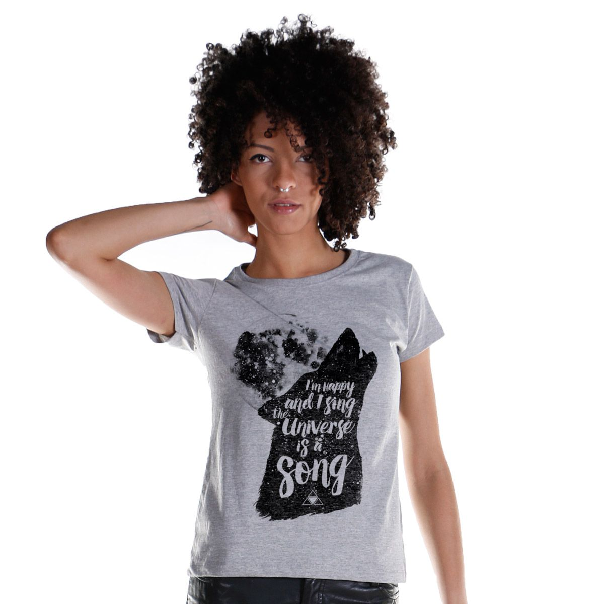 Camiseta Feminina Luan Santana The Universe Is a Song