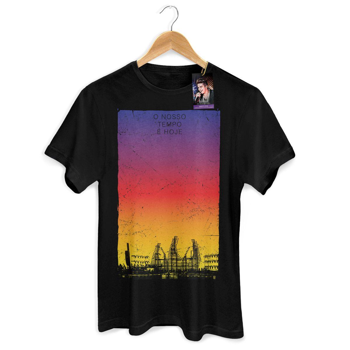 Camiseta Masculina Luan Santana - Concept Colors