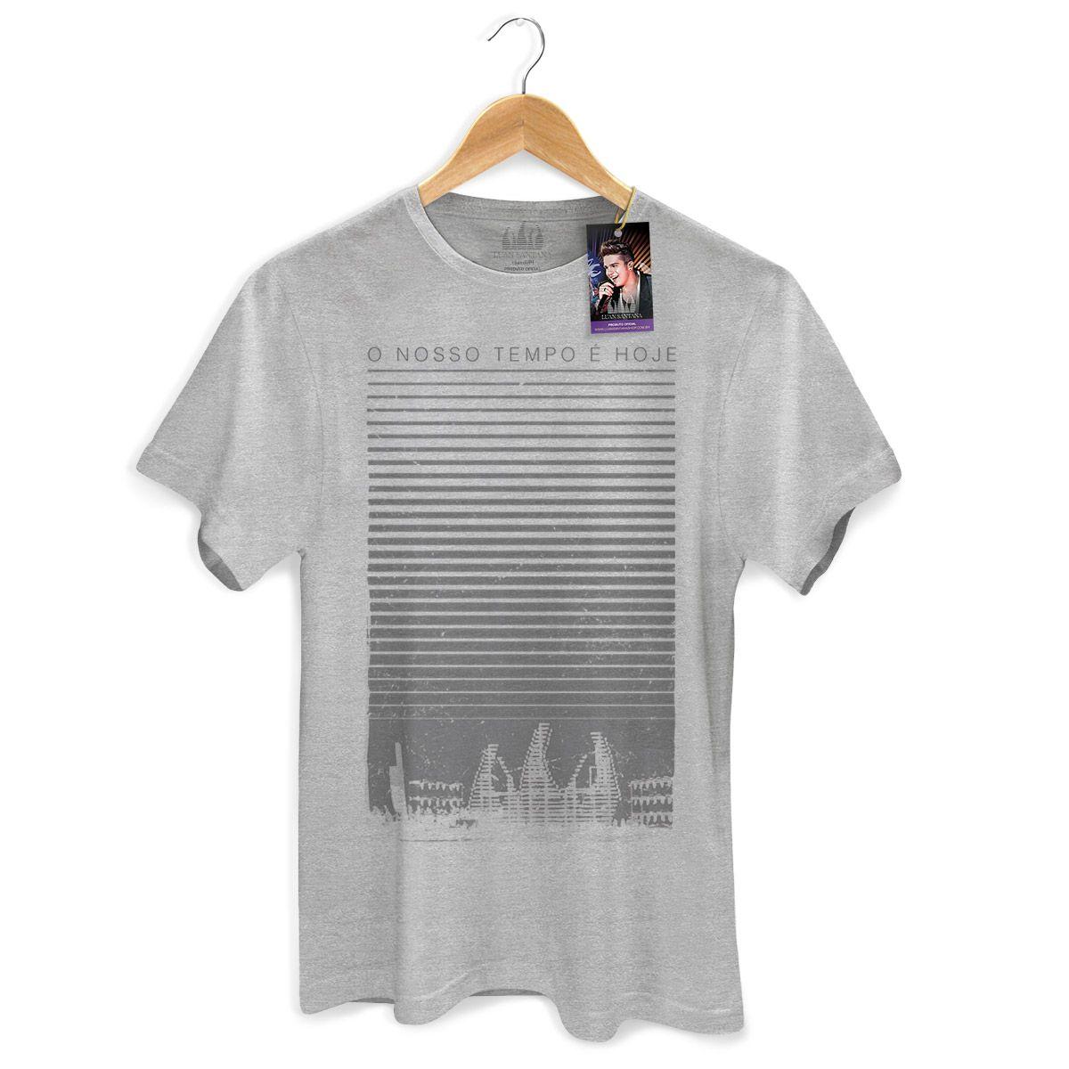 Camiseta Masculina Luan Santana - Concept Grey