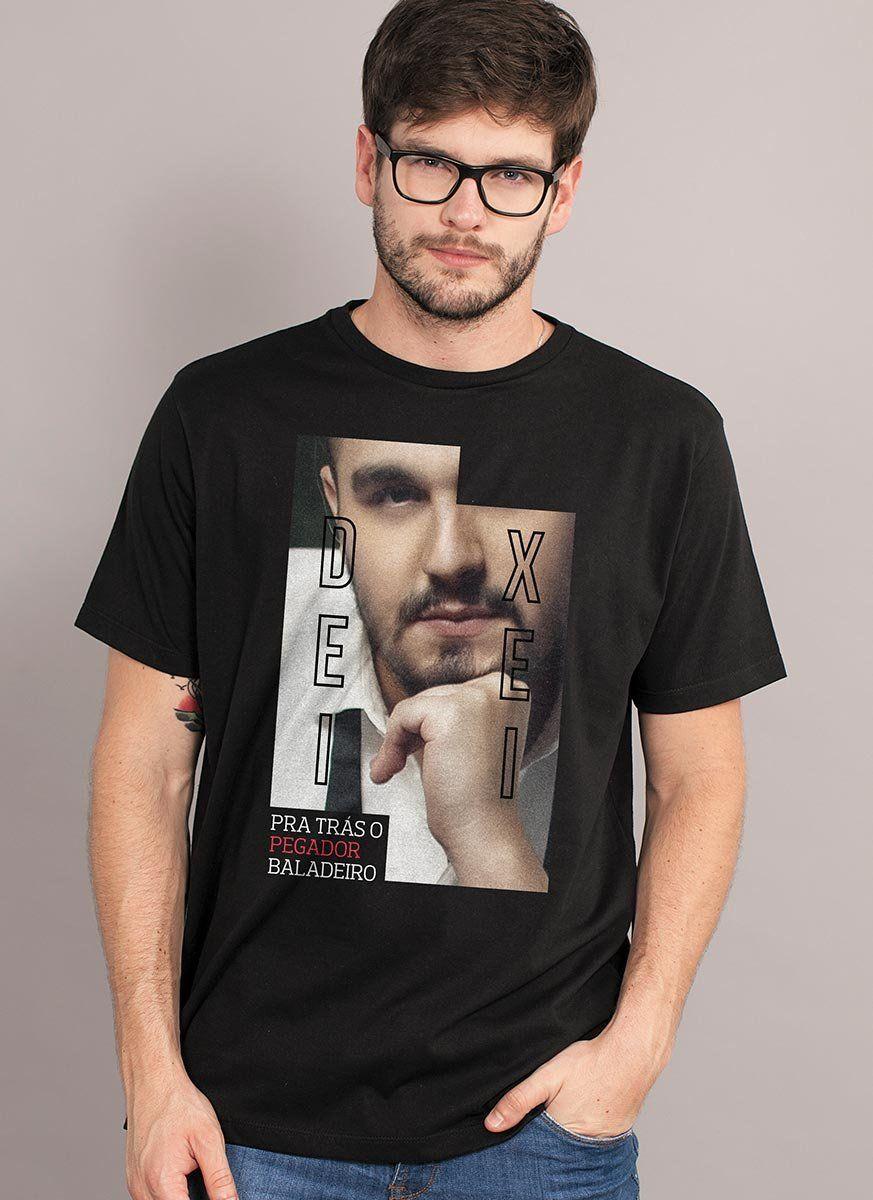 Camiseta Masculina Luan Santana Deixei pra trás
