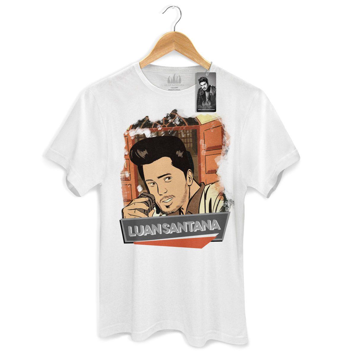 Camiseta Masculina Luan Santana Eu Não Merecia Isso