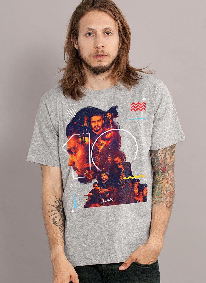 Camiseta Masculina Luan Santana #Luan10anos