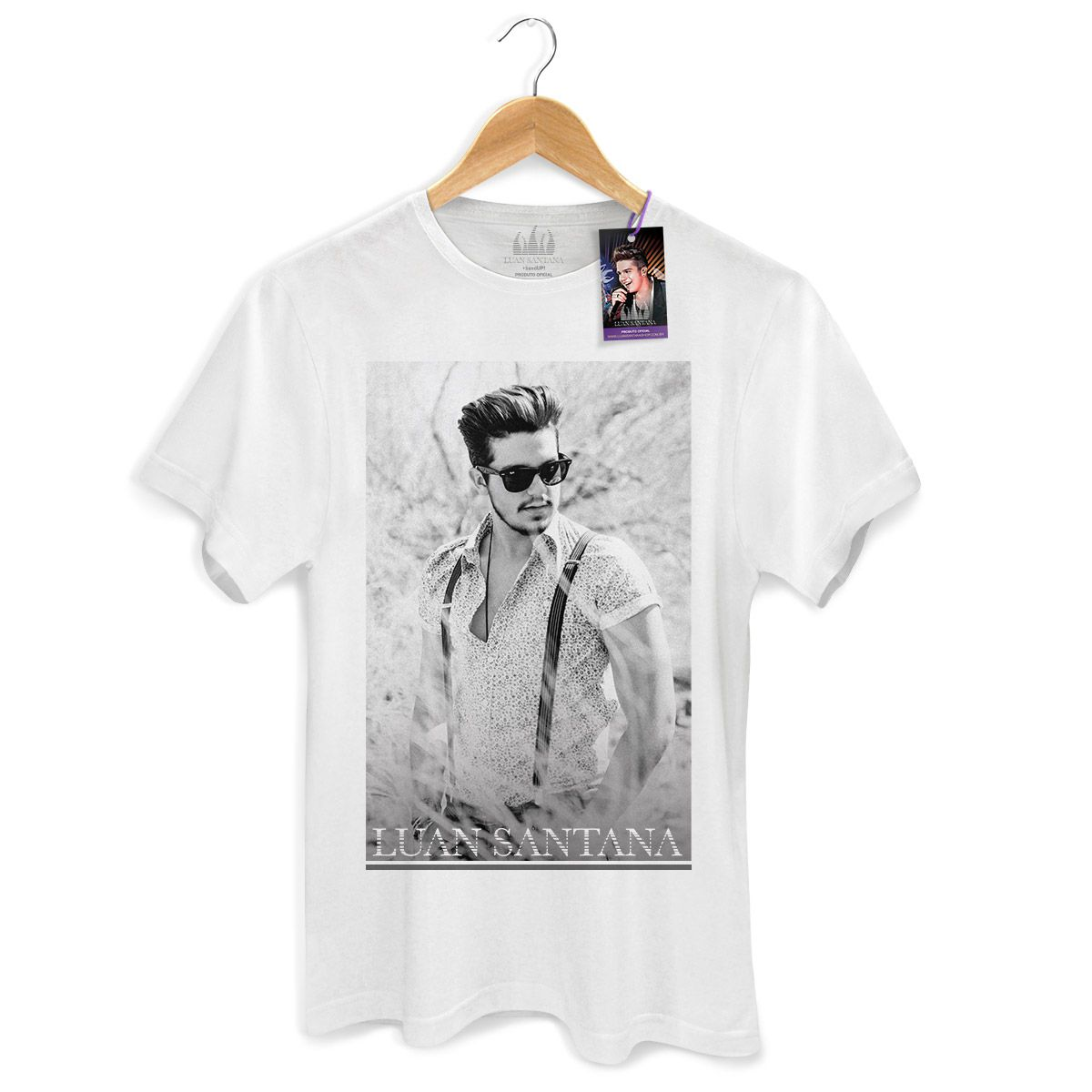 Camiseta Masculina Luan Santana Summer