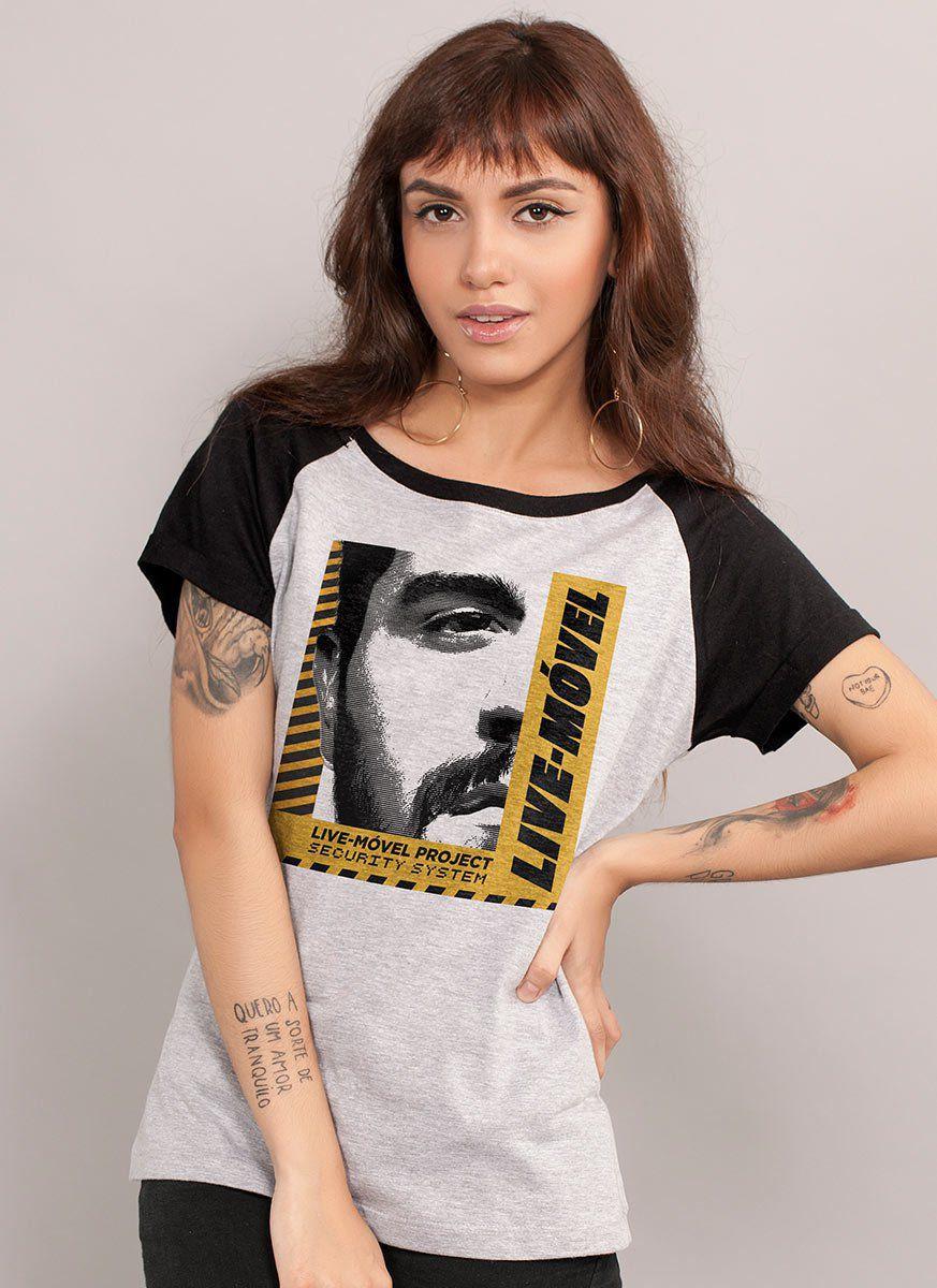 Camiseta Raglan Feminina Luan Santana Project