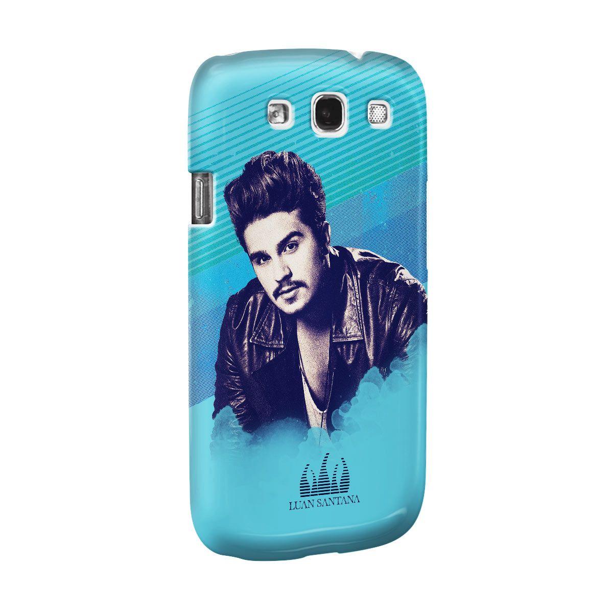 Capa para Celular Samsung Galaxy S3 Luan Santana Sky