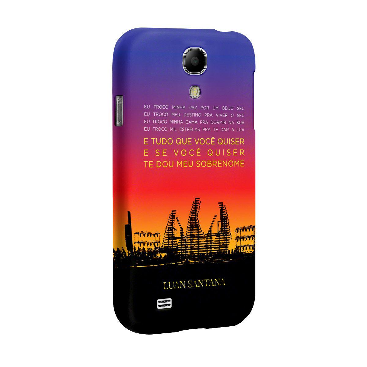Capa para Celular Samsung Galaxy S4 Luan Santana Concept