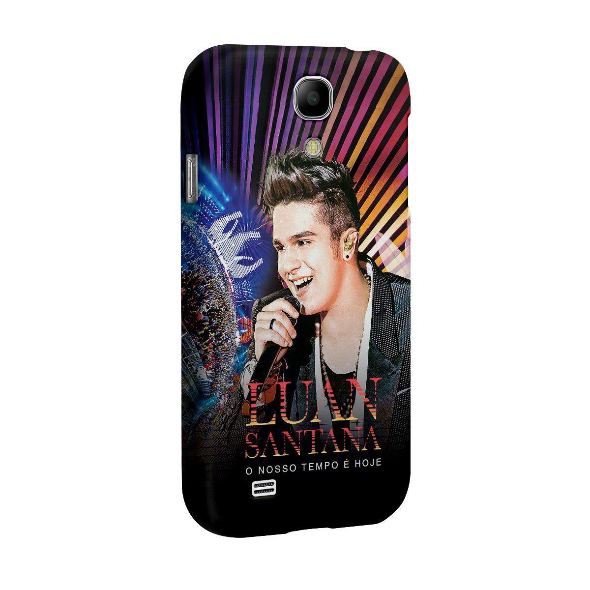 Capa para Celular Samsung Galaxy S4 Luan Santana O Nosso Tempo é Hoje
