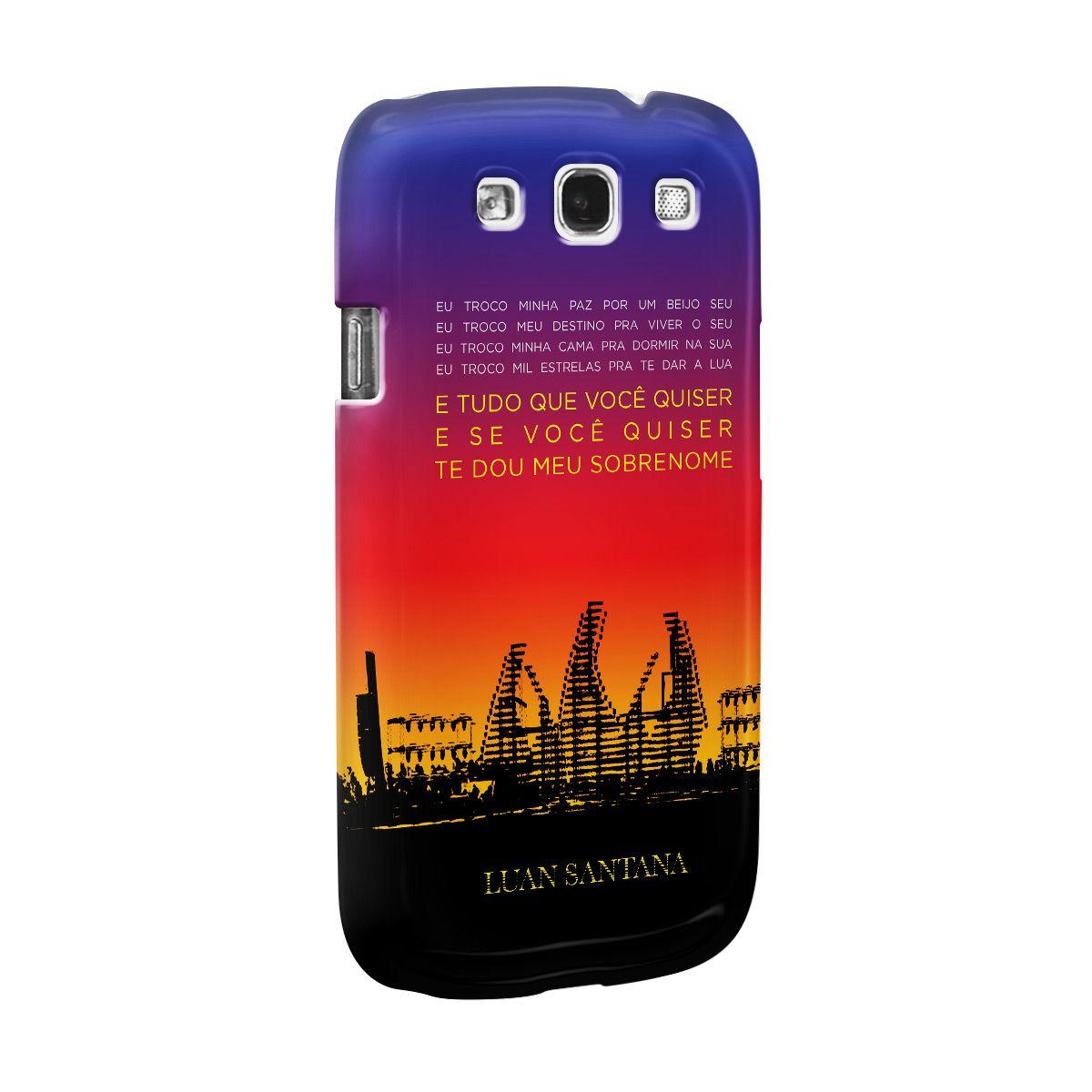 Capa para Celular Samsung Galaxy S3 Luan Santana Concept