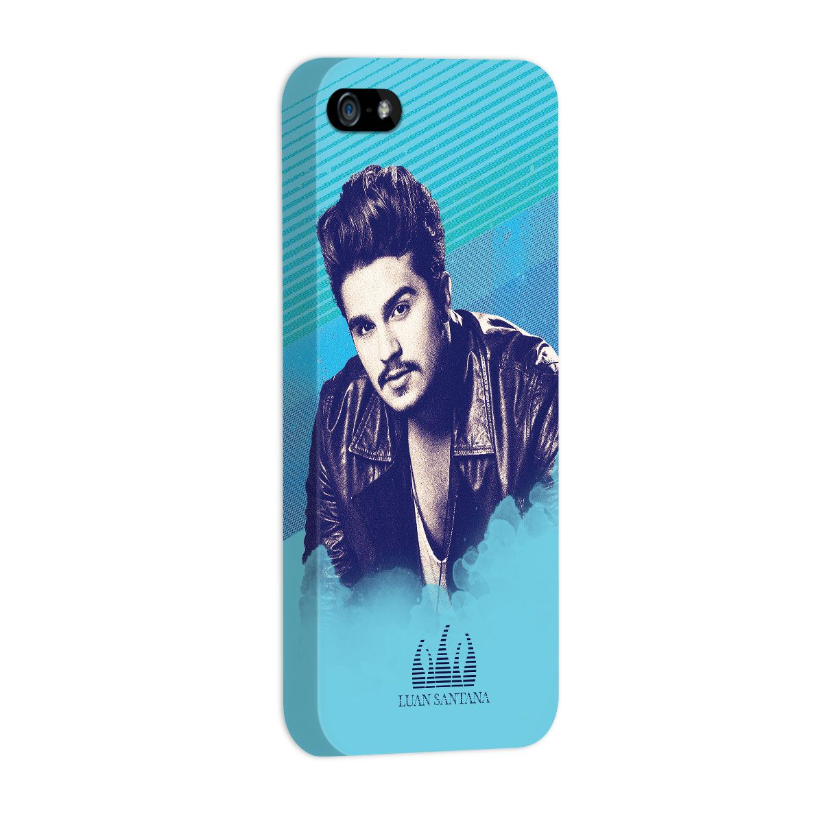 Capa para iPhone 5/5S Luan Santana Sky