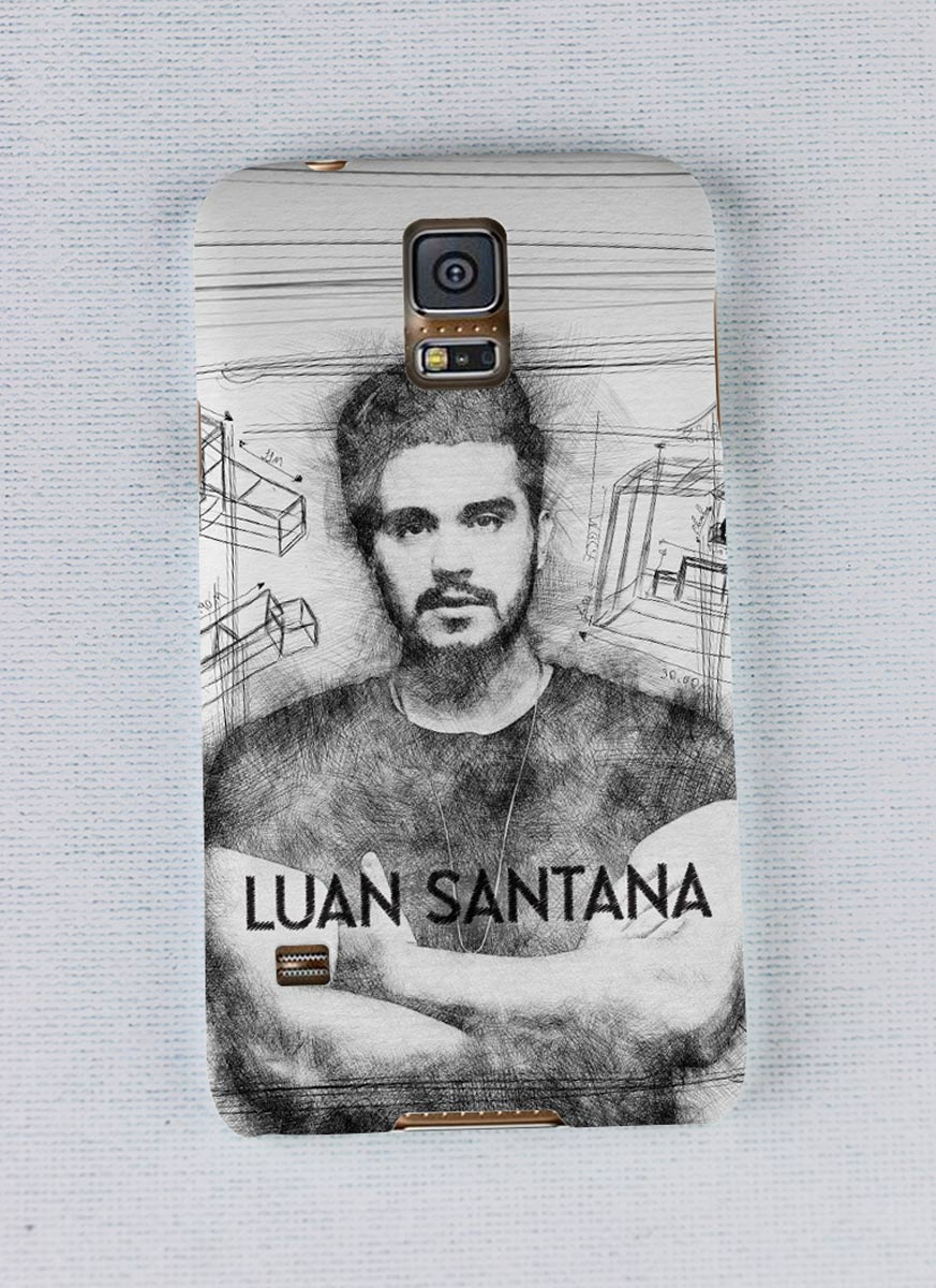 Capa para Samsung Galaxy S5 Luan Santana A Caixa