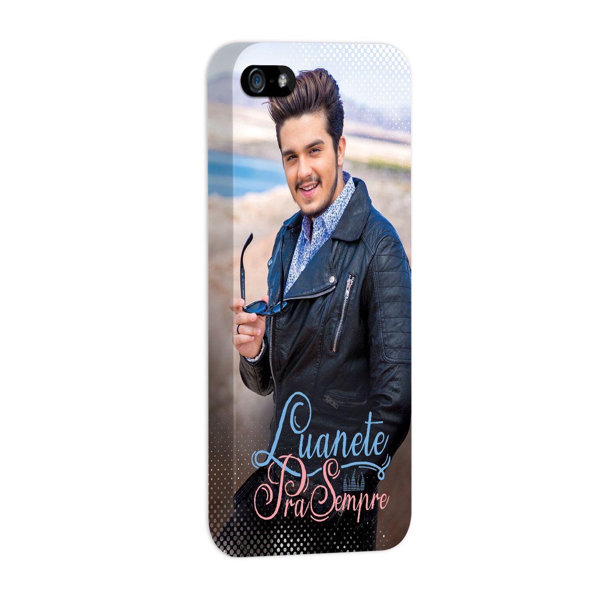 Capa para iPhone 5/5S Luan Santana Luanete Pra Sempre