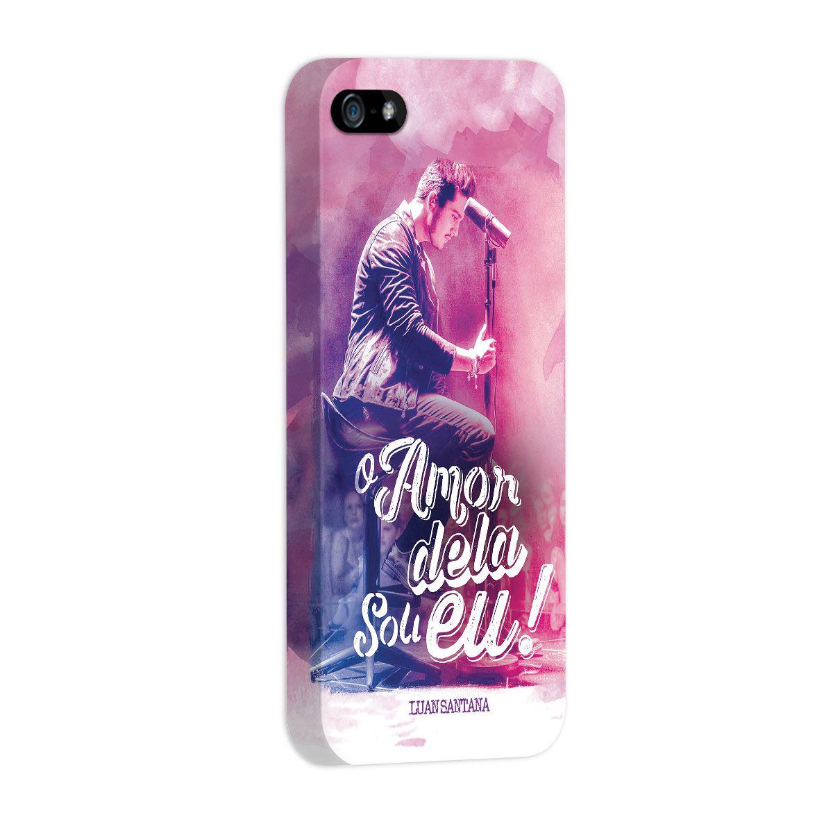 Capa para iPhone 5/5S Luan Santana O Amor Dela Sou Eu