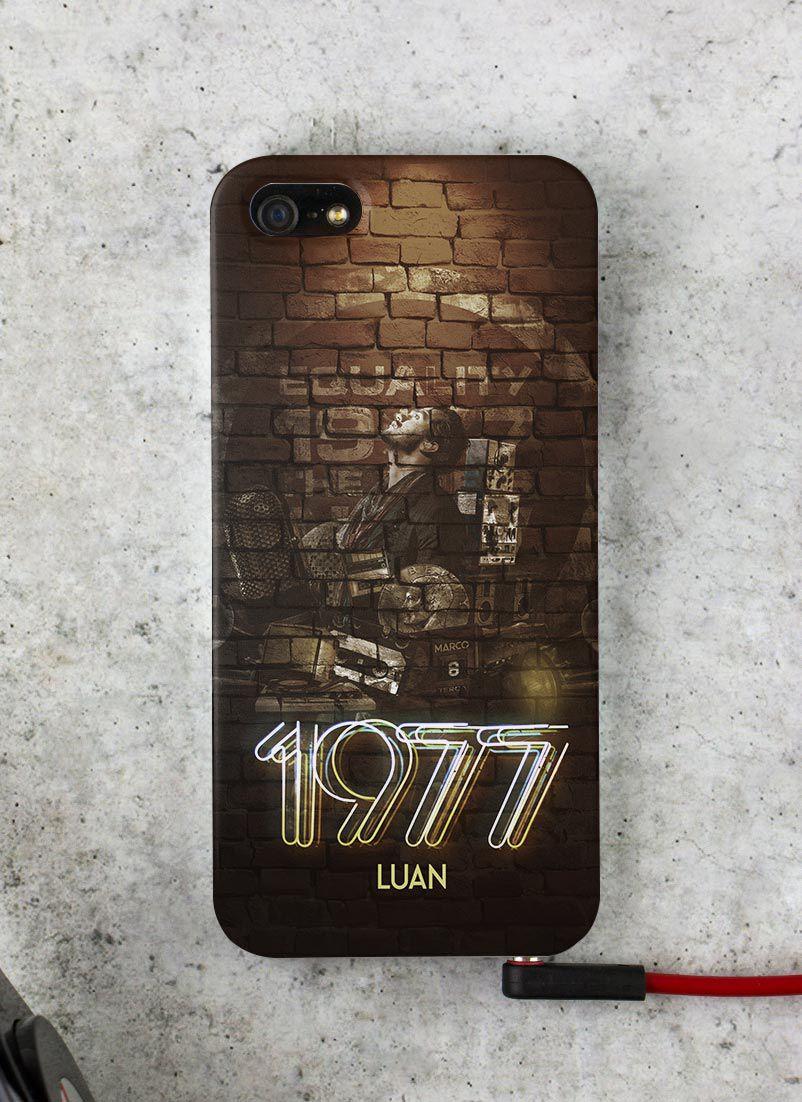 Capa para iPhone 5/5S/SE Luan Santana 1977 Capa