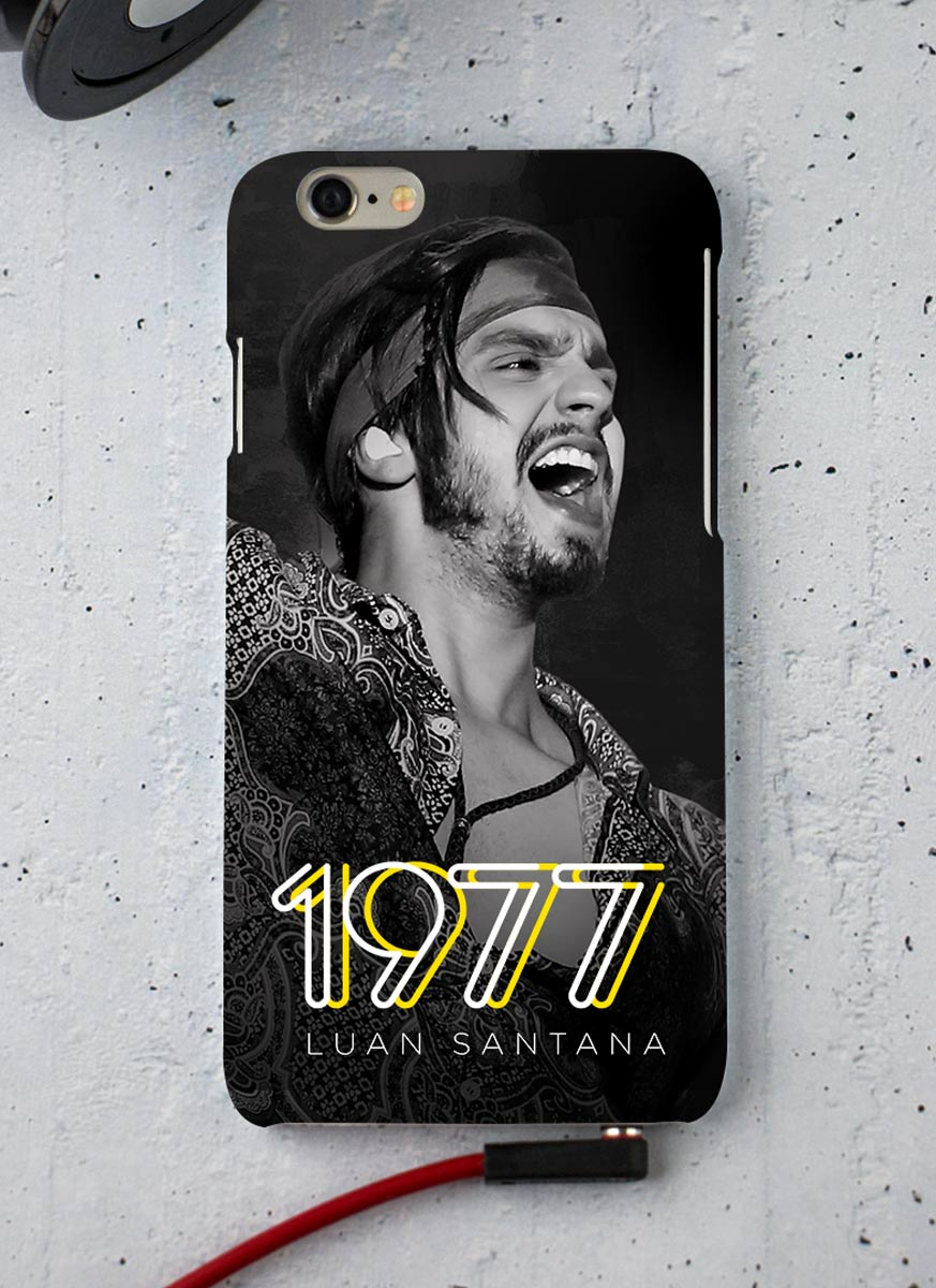 Capa para iPhone 6/6S Luan Santana 1977
