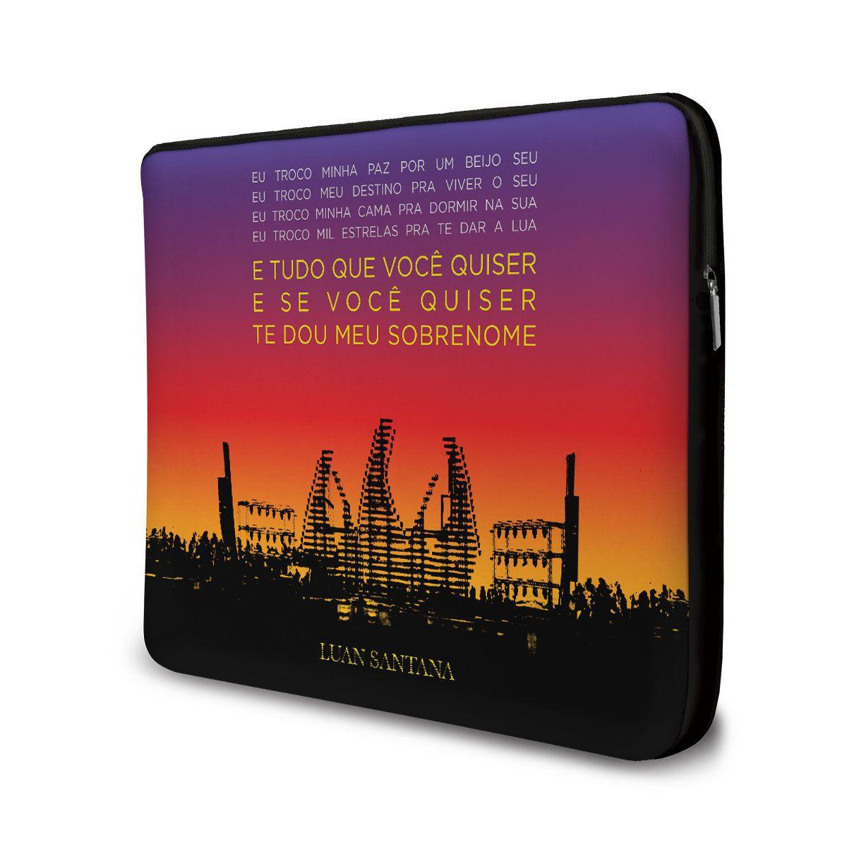 Capa Para Notebook Luan Santana - Concept
