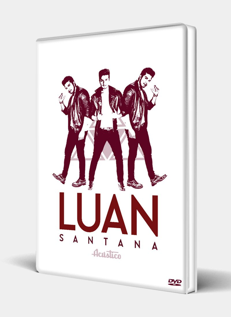 DVD Luan Santana Acústico