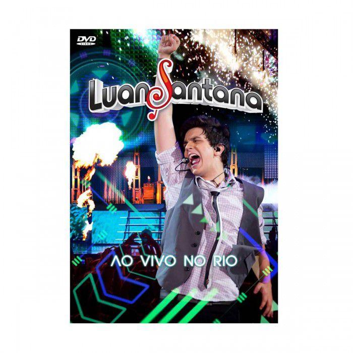 DVD Luan Santana - Ao Vivo No Rio