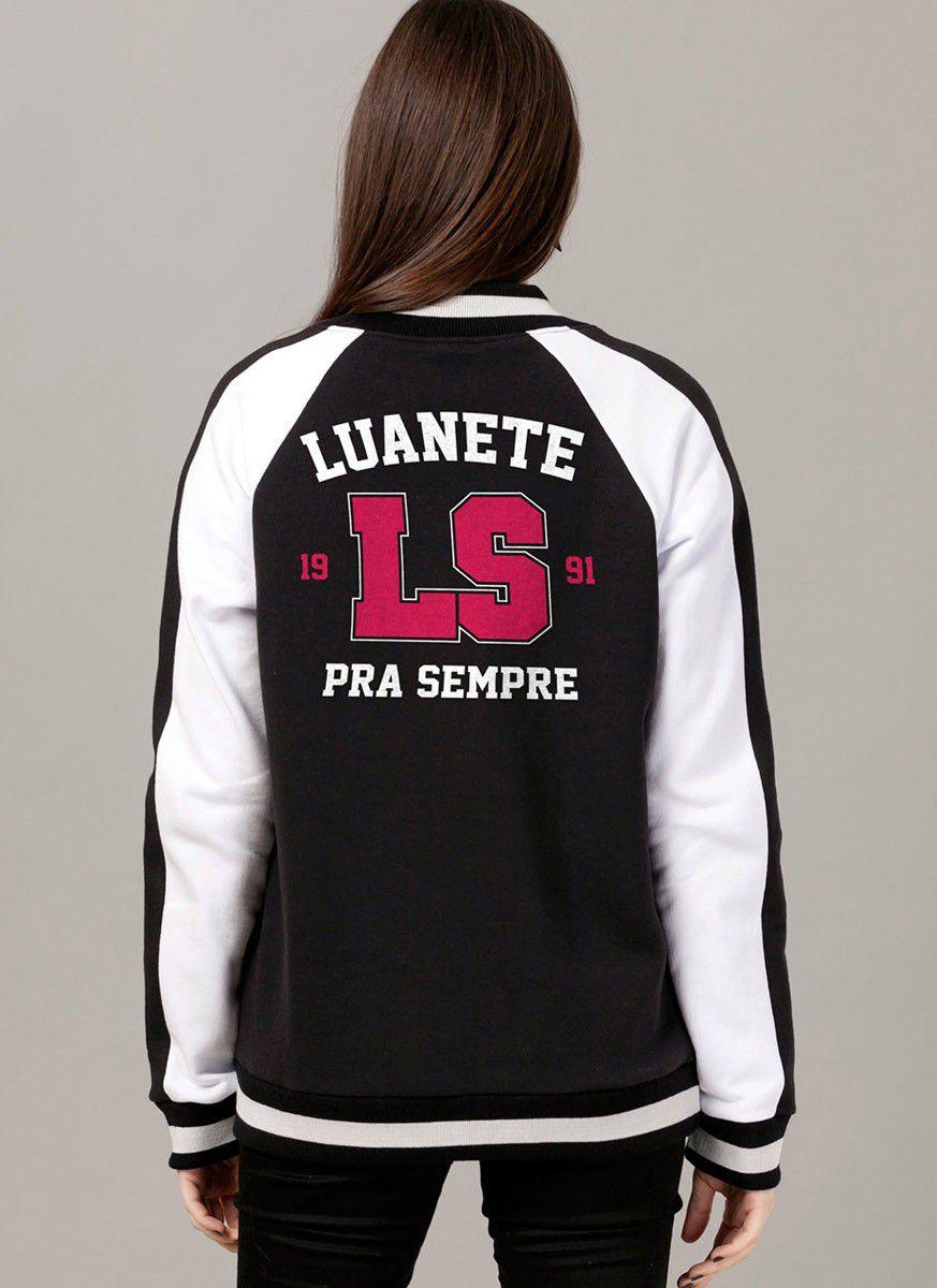 Jaqueta Bomber Luan Santana Luanete Pra Sempre