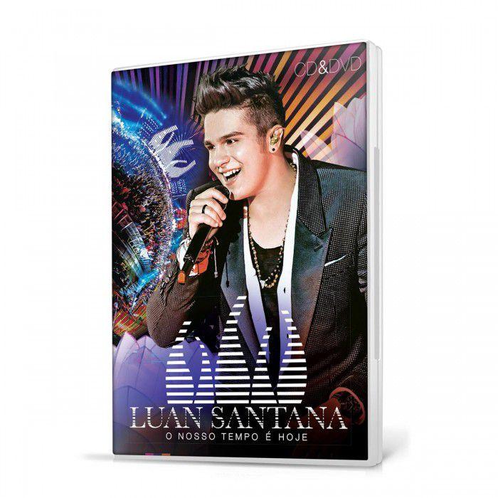 KIT CD+DVD Luan Santana - O Nosso Tempo é Hoje