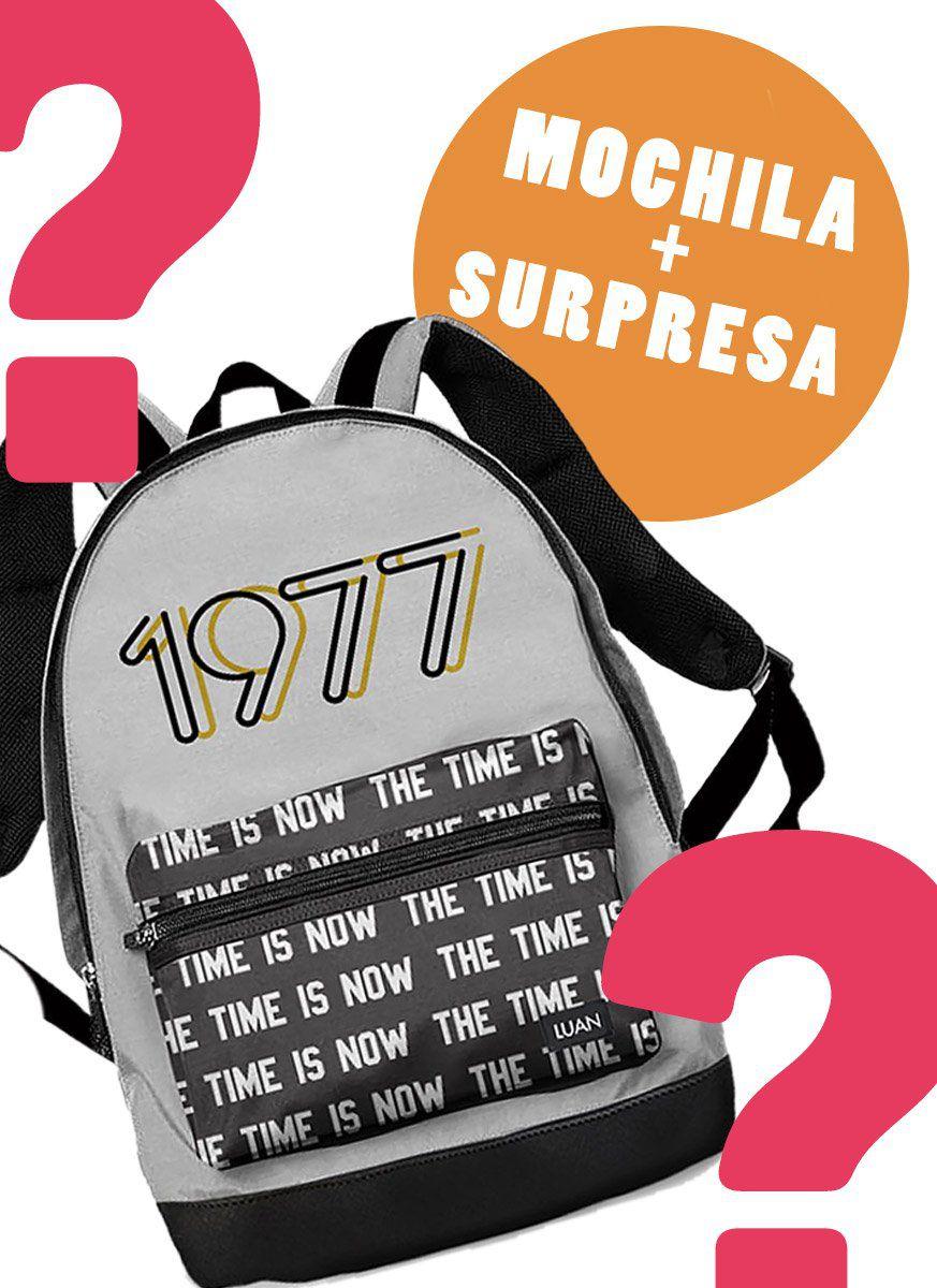 Mochila Luan Santana The Time Is Now + Brinde Surpresa