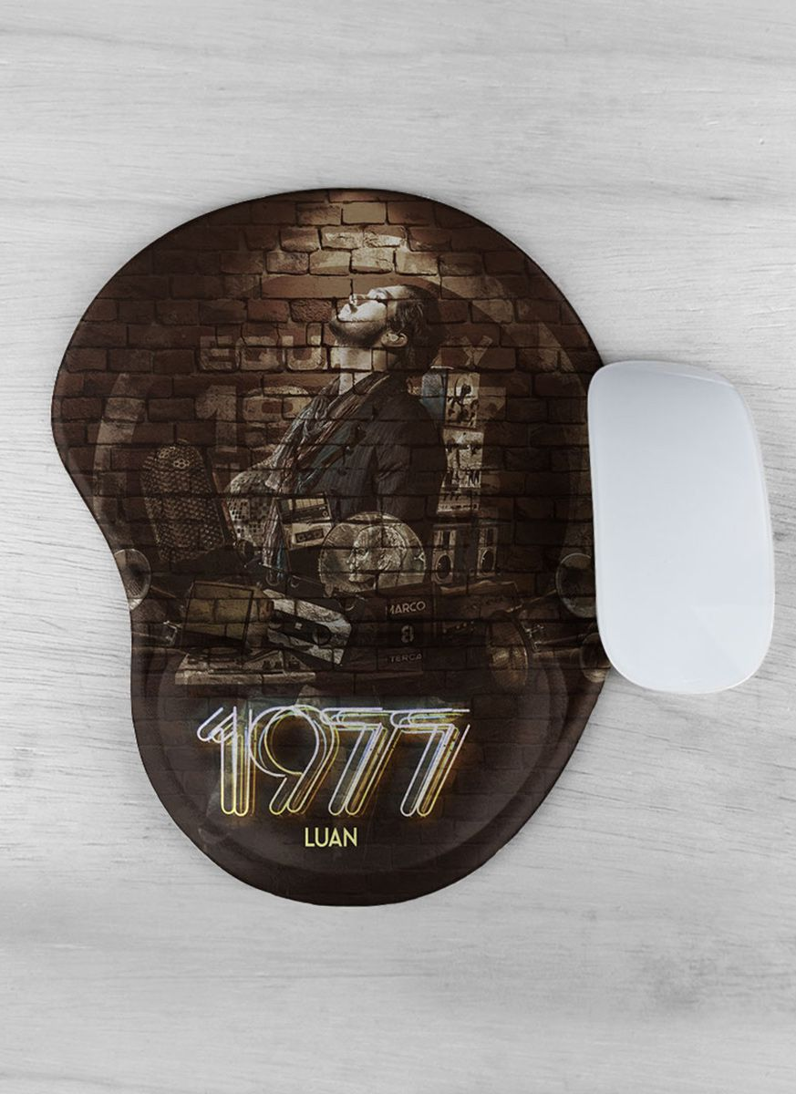 Mousepad Luan Santana 1977 Capa