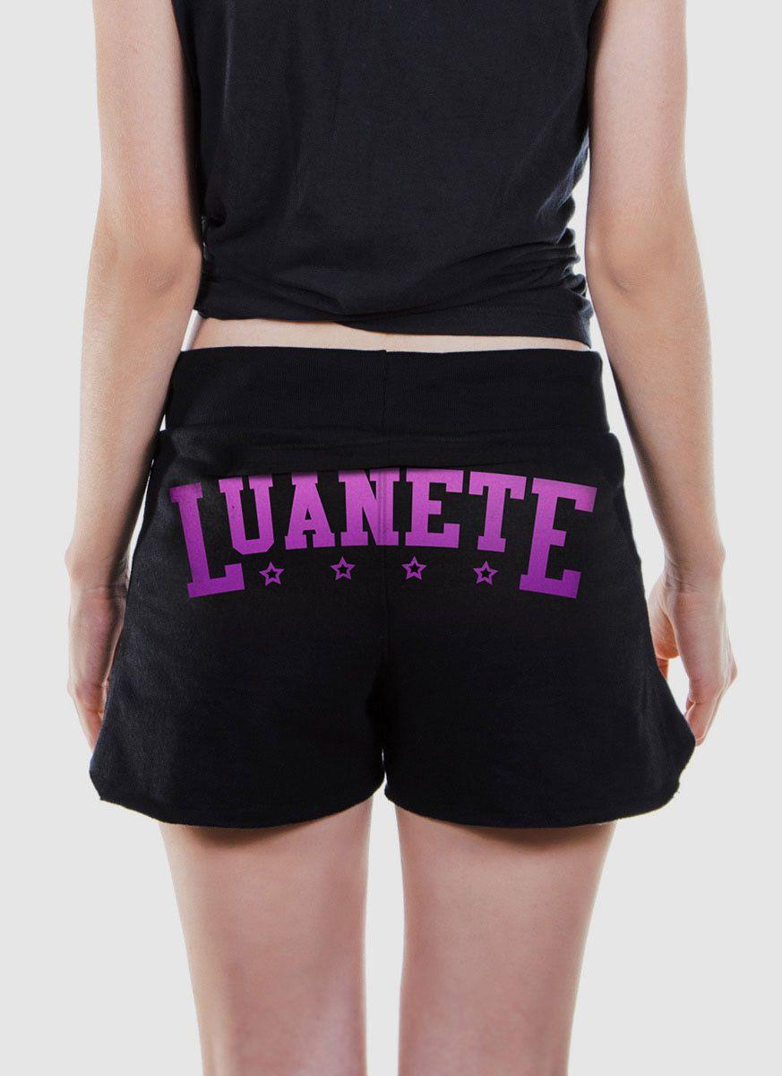 Shorts de Moletom Luan Santana Luanete
