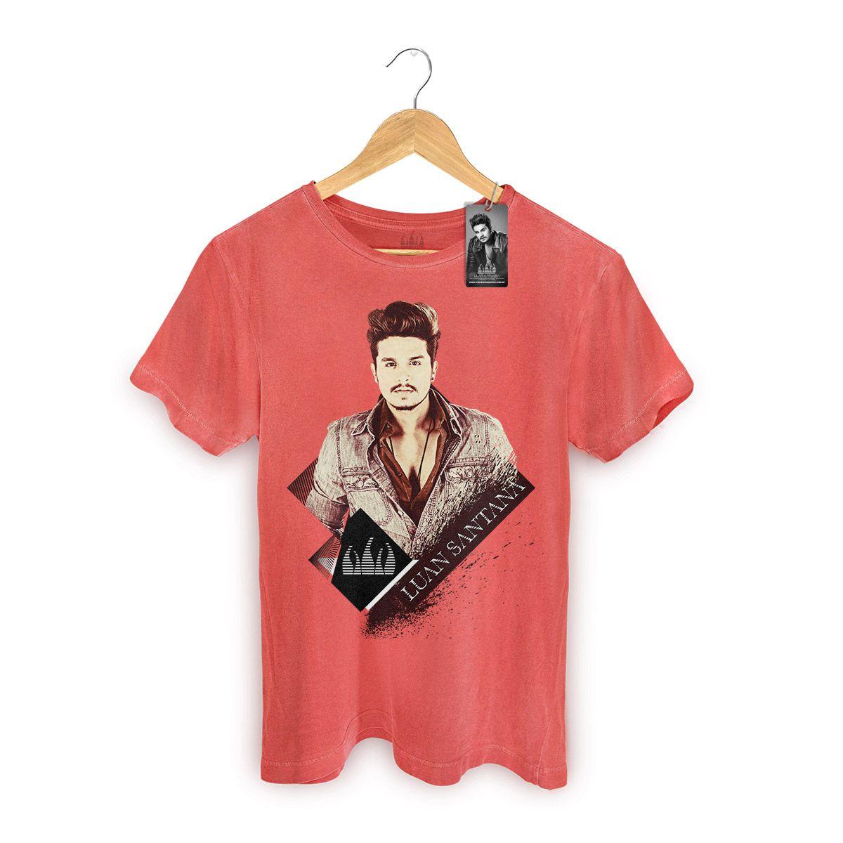 T-shirt Premium Masculina Luan Santana Vintage