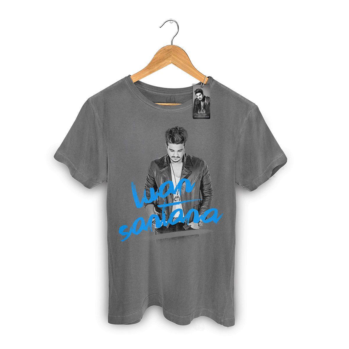 T-shirt Premium Masculina Luan Santana Duetos