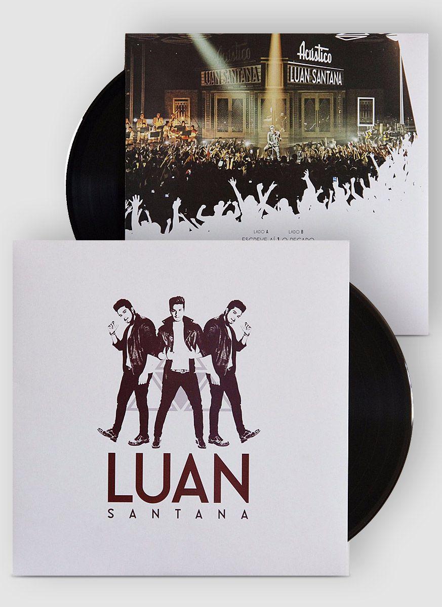 Vinil LP Luan Santana Acústico