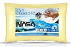 Travesseiro ViscoElástico Basic - Tecnologia desenvolvida pela Nasa - Perfil Alto