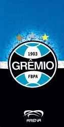 Toalha Praia Grêmio - 100% Algodão - 1,52m x 76cm - Licenciado