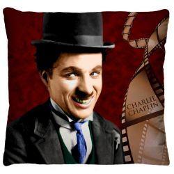 Capa para Almofada Estampada Colorida Tecido Microfibra - Chaplin A220