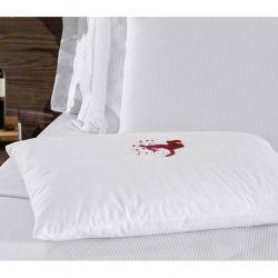 Capa Protetora para Travesseiro Impermeável Repelente Percal Poliéster 280 Fios - Anti Ácaro