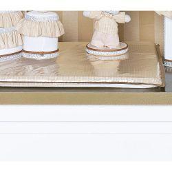 Trocador Avulso de Espuma Plastificado Coleção Classic Palha