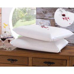 Kit de Fronhas Impermeáveis Bia para Travesseiro 70cm x 50cm 02 Peças Com Zíper - Branco