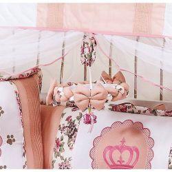 Móbile para Berço de Bebê - Coleção Princesa Baby