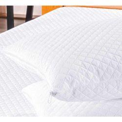 Protetor Impermeável para Travesseiro Bia 01 Peça Matelado Ultrassônico - Branco
