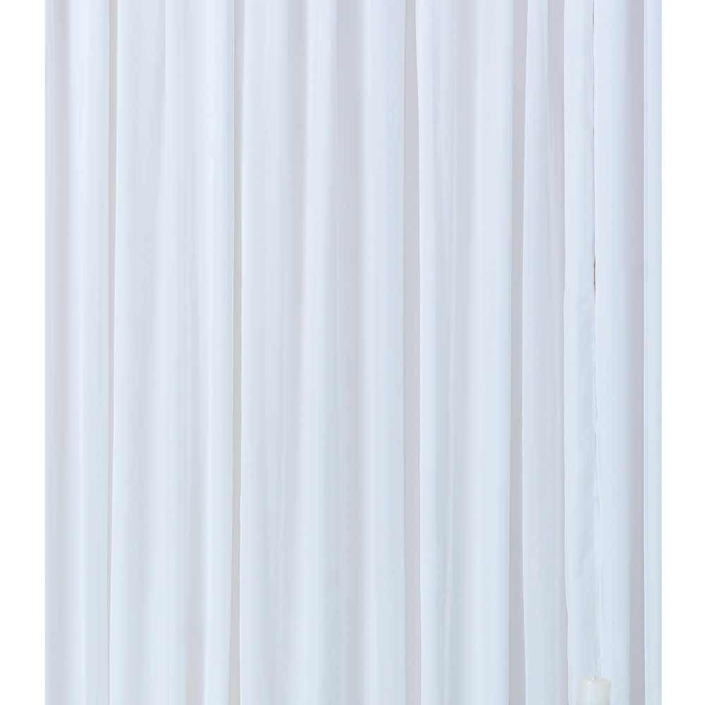 Cortina Alpes 2m x 1,80m Com Pregas Americanas - Branco