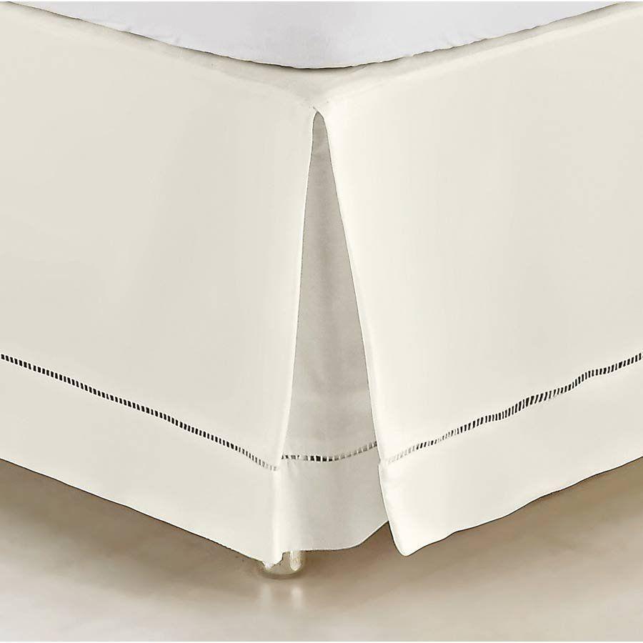 Saia Box para Cama Casal Padrão Supreme Tecido 100% Algodão 180 Fios - Palha