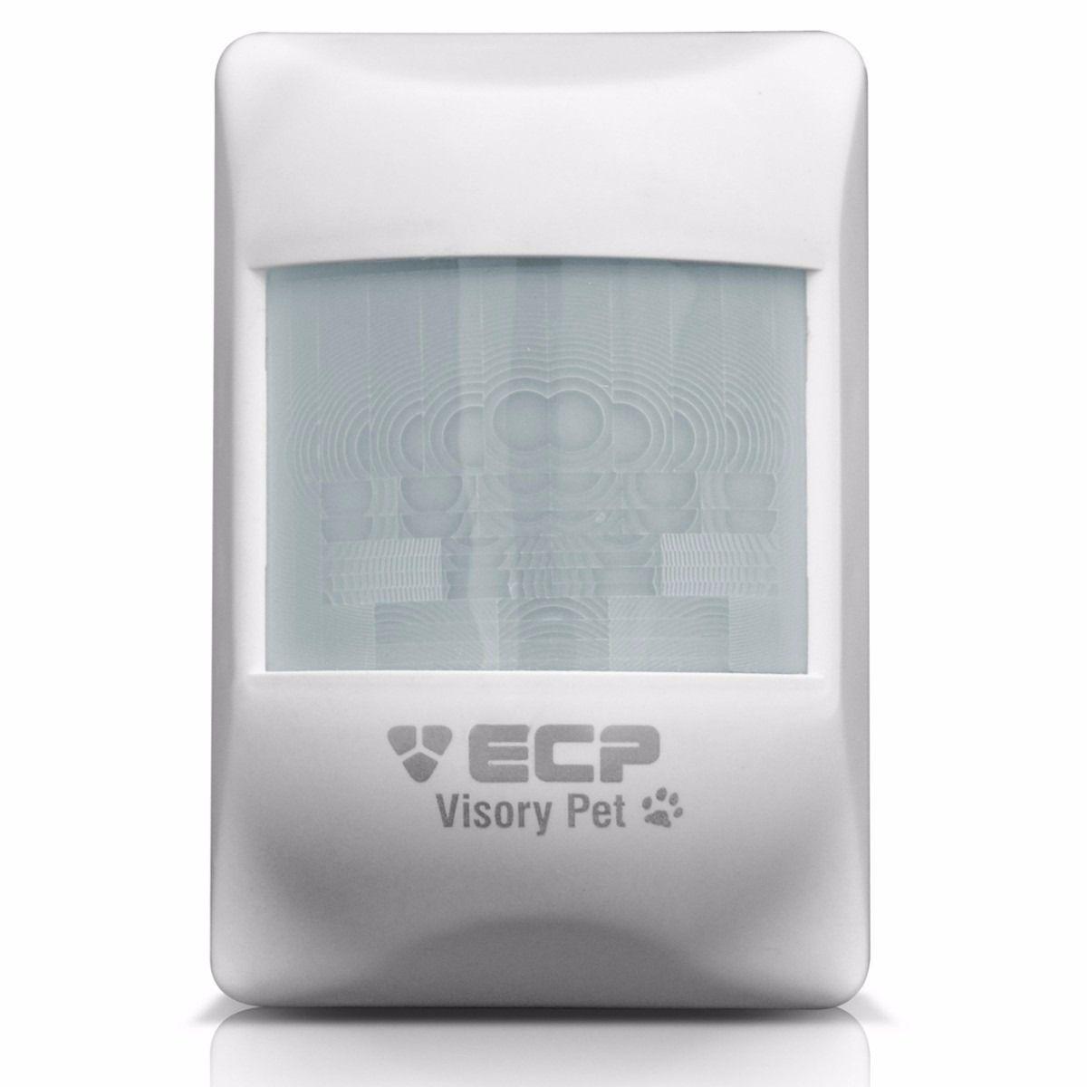 Sensor Infra ECP -  Passivo IVP Alarmes Visory Pet