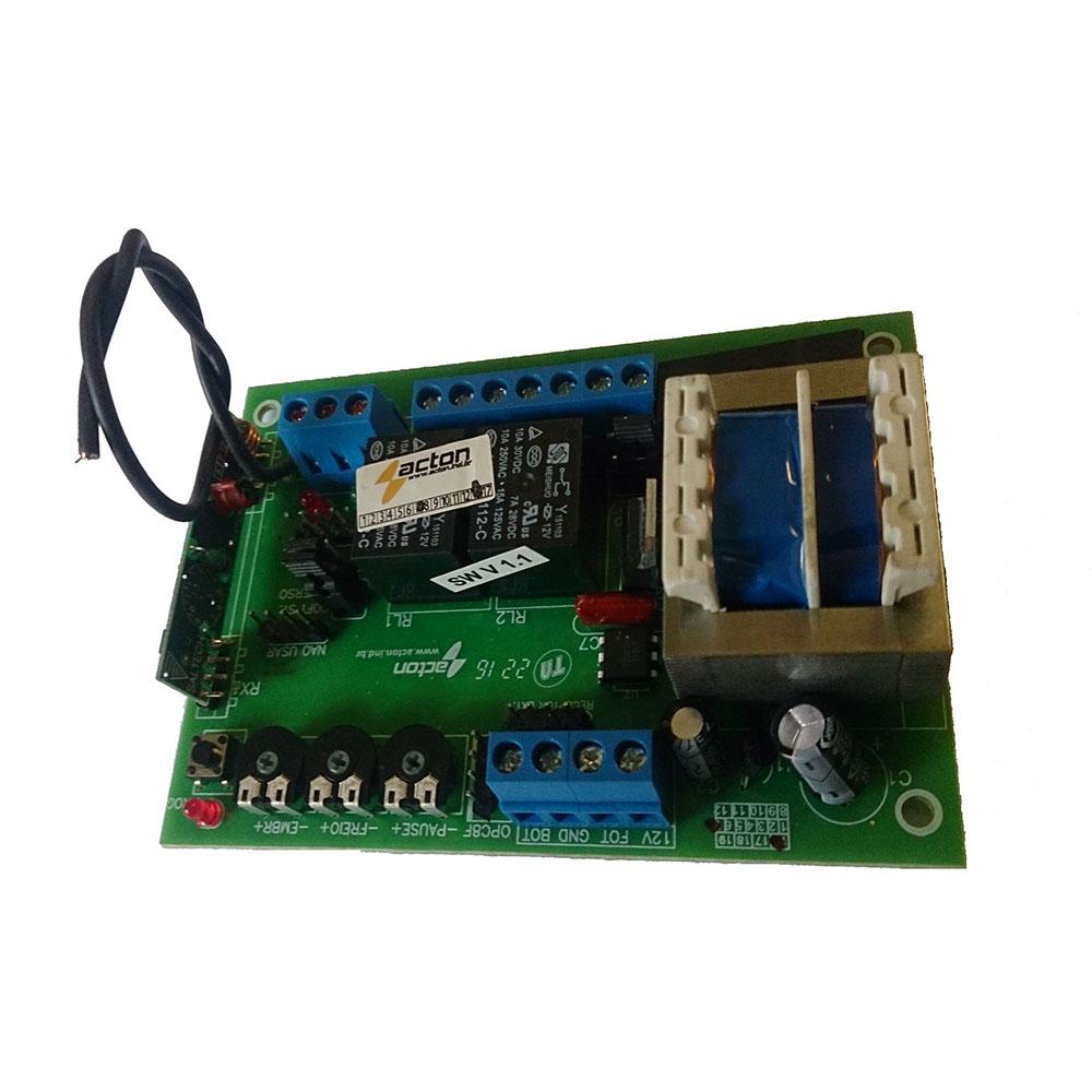Placa de Comando compatível com Unisystem e Garen